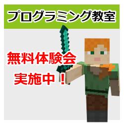 プログラミング教室 無料体験会 1月13日(日)~