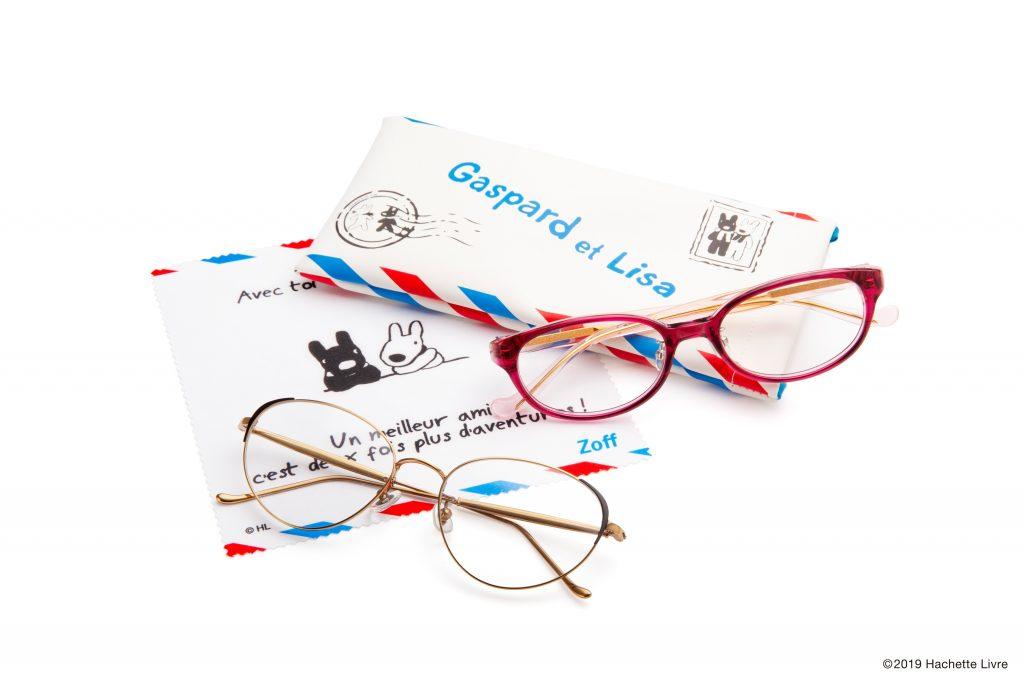 Zoffから生誕20周年を迎えるリサとガスパールのメガネが発売!